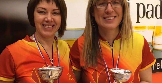 Vika in Vanja osvojili srebrno in bronasto medaljo