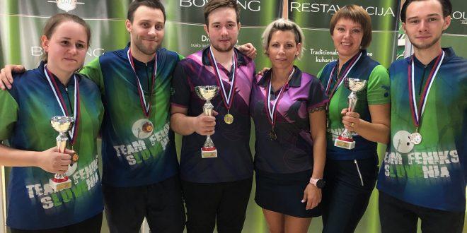 Feniks pobral vse medalje na državnem prvenstvu mešanih dvojic
