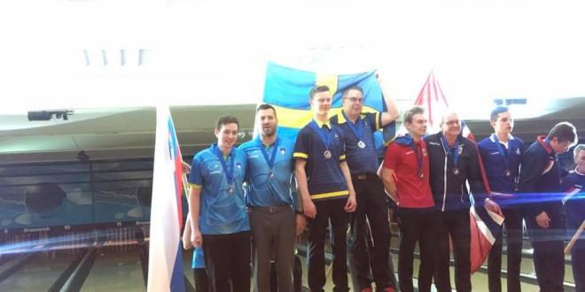 Tim na evropskem mladinskem prvenstvu osvojil srebrno medaljo
